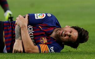 Blessé au bras, Messi manquera le Clasico