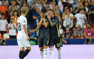 Expulsé pour la 1ère fois en C1, Ronaldo sort du terrain en pleurs