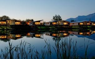 Les 5 cabanes sur l'eau