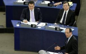 Le discours de François Hollande au Parlement européen