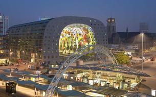 Rotterdam: un marché couvert comme nouvelle icône