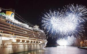 Le nouveau navire amiral de Costa prend le large