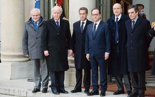 Marche républicaine : Hollande réunit gauche et droite pour la République