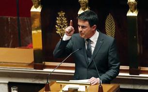 Le discours de Manuel Valls après l'attentat contre <i>Charlie Hebdo</i>