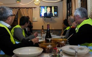 Baisse de la cote de popularité du président Macron