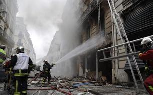 EN IMAGES - Forte explosion dans le 9e arrondissement de Paris
