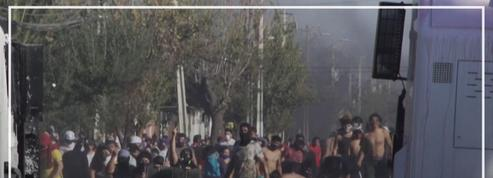 Chili: les pénuries et la faim conduisent à de violentes manifestations