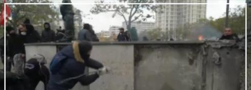 «Gilets jaunes» : des casseurs fracturent un monument dédié au maréchal Juin