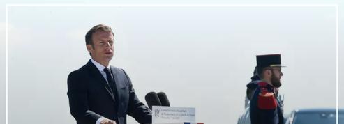 Emmanuel Macron rend hommage au général de Gaulle et célèbre «l'esprit français»