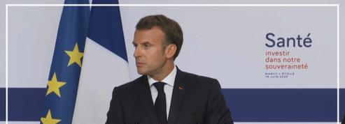 Santé: en visite chez Sanofi, Macron annonce la relocalisation d'entreprises en France