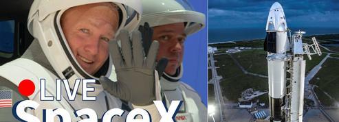 [REPLAY] le lancement de SpaceX vers l'ISS commenté en français