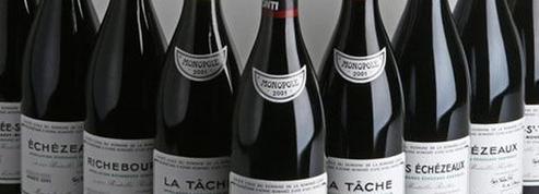 Une sélection de grands crus d'un collectionneur français aux enchères