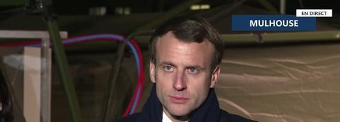 Coronavirus: «Nous ne sommes qu'au début», prévient Emmanuel Macron