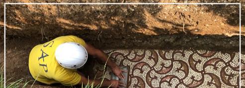 Italie: des mosaïques datant du IIIè siècle découvertes sous des vignes