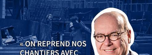 François Mortegoutte, patron des Maçons Parisiens: «On reprend les chantiers avec masques et gants»