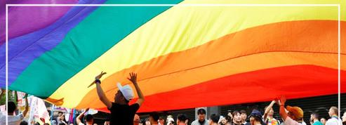 Première marche des fiertés à Taïwan depuis la légalisation du mariage homosexuel