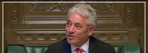 John Bercow, le «speaker» de la Chambre des Communes fait ses adieux