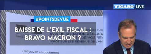 Baisse de l'exil fiscal: Bravo Macron?