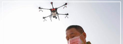 Coronavirus: des drones approvisionnent des Chinois en quarantaine