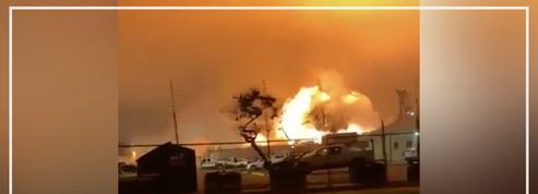 États-Unis: un gigantesque incendie se déclare dans une raffinerie de Louisiane