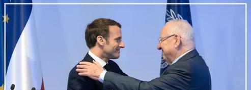 Nier «Israël comme État» est de l'antisémitisme, affirme Macron à Jérusalem