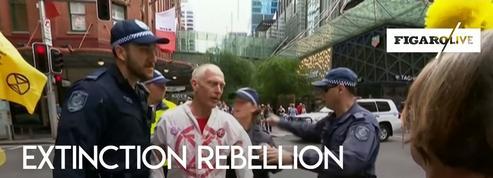 Extinction Rebellion : plusieurs manifestants arrêtés en Australie