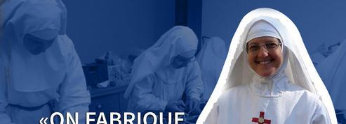 Solidaires de la crise, des religieuses fabriquent des masques