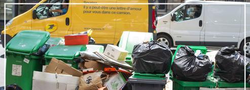 À Paris, la grève fait déborder les poubelles et craindre les rats