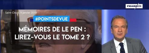 Mémoires de Le Pen : lirez-vous le tome 2 ?