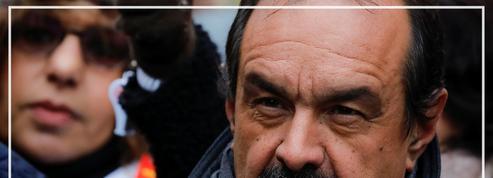 Martinez : «La grève ne s'arrêtera pas ce soir»