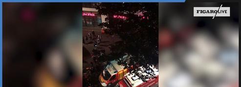 Paris : après l'incendie d'un Ehpad, les images de l'évacuation des résidents