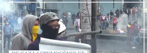 En Equateur, de violentes manifestations contre la hausse du prix de l'essence se poursuivent