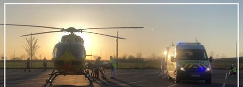 Coronavirus: des malades français transférés en hélicoptère vers l'Allemagne