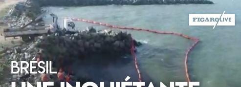 Brésil : une centaine de plages touchées par une pollution aux hydrocarbures