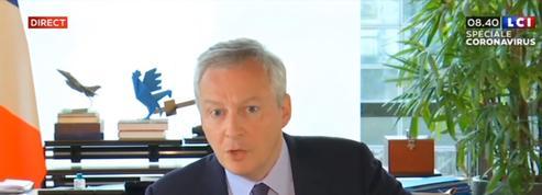 Bruno Le Maire: «Il faut reprendre le travail»