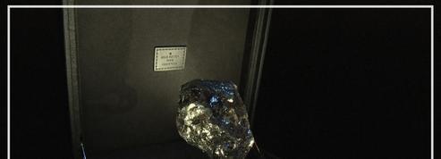 Le deuxième plus gros diamant brut au monde exposé à Paris