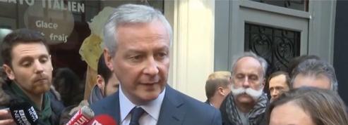 Retraites: «Cette grève pèse sur le moral des Français, des salariés» affirme Bruno Le Maire