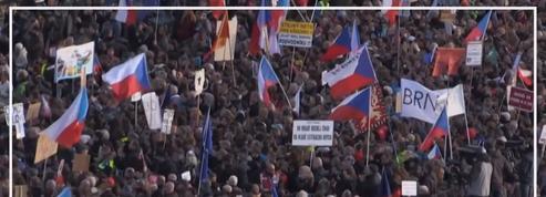 République tchèque : plus de 200 000 personnes se mobilisent contre le premier ministre