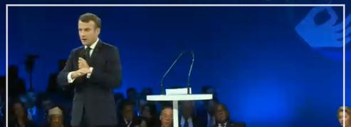 Forum pour la paix: le discours d'ouverture d'Emmanuel Macron