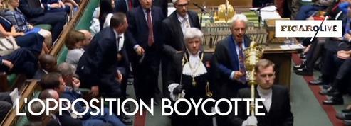 Suspension du parlement britannique : des députés de l'opposition expriment leur colère