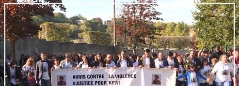 Un millier de personnes ont marché pour Kewi, 15 ans, tué pendant un cours d'EPS