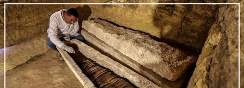 Des tombes vieilles de 3000 ans découvertes en Égypte