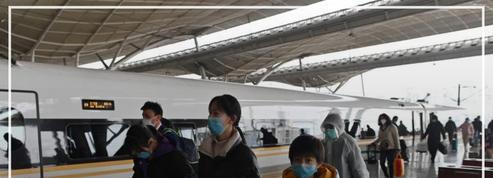 Coronavirus: après deux mois d'isolement, le premier train de voyageurs s'est arrêté à Wuhan