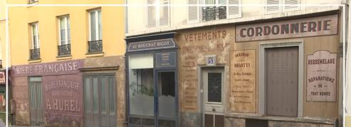 Confinement: un coin de Paris figé sous l'Occupation