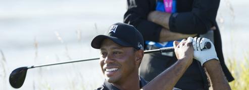 Wyndham Championship: Tiger Woods co-leader à mi-tournoi