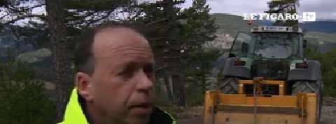 Crash A320 : Une route en construction pour accéder au site de l'accident