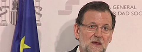 Rajoy exprime sa solidarité après le crash de l'Airbus A320