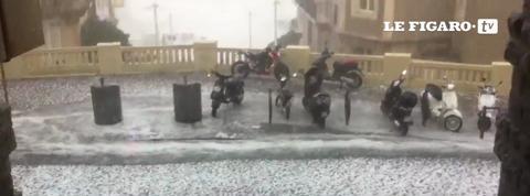 Un violent orage de grêle s'abat sur le Sud-Ouest
