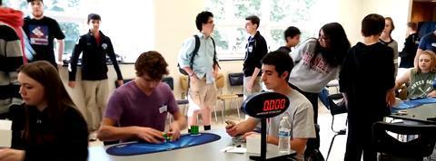 Record du monde de Rubik's Cube