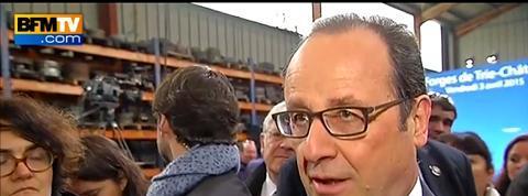 François Hollande veut inciter l'investissement via un encouragement fiscal
